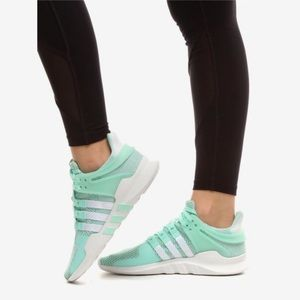 Adidas equipment support sneakers.